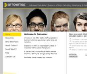 Arrowmac Staffing website