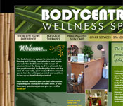 BodyCentre Wellness Spa website