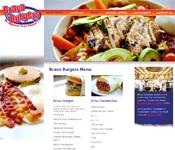 Bravo Burgers website