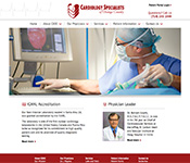 Cardiology Specialists of Orange County website