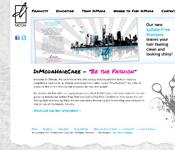 DiModaHairCare website