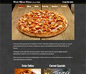 First Class Pizza - Villa Park website