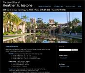 Attorney Heather Melone website