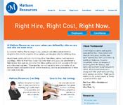 Mattson Resources website